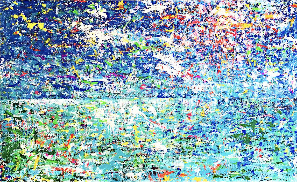 ハワイの海の絵 松田光一 光を描く